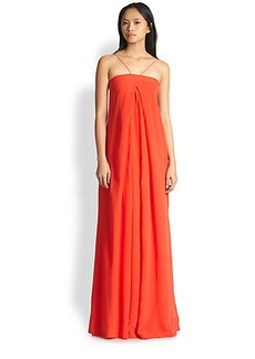 Diane von Furstenberg Annie Silk Maxi Dress