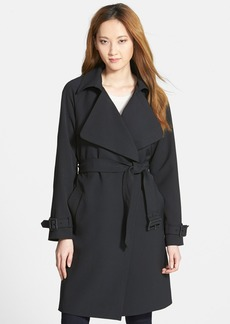 Diane von Furstenberg 'Anouk' Soft Twill Long Trench Coat