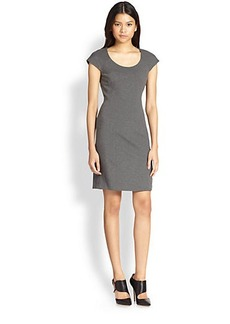 Diane von Furstenberg April Cap-Sleeve Ponte Dress