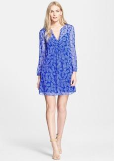 Diane von Furstenberg 'Aria' Print Silk Dress