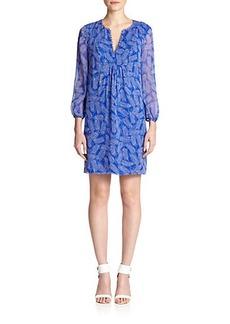 Diane von Furstenberg Aria Silk Tunic Dress