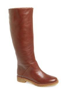 Diane von Furstenberg 'Ashton' Genuine Shearling Lined Boot (Women)