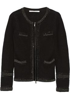 Diane von Furstenberg Aspen embellished wool cardigan
