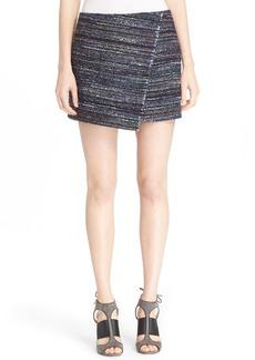 Diane von Furstenberg 'Austyn' Woven Tweed Miniskirt