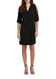 Diane von Furstenberg Autumn Matte Jersey Wrap Dress