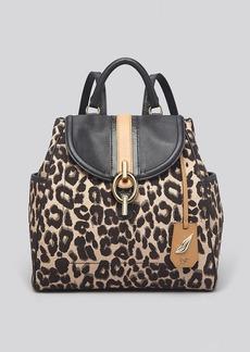 DIANE von FURSTENBERG Backpack - Sutra Leopard Jacquard