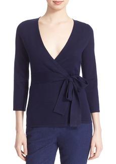 Diane von Furstenberg 'Ballerina' Silk Wrap Sweater