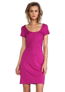 Diane von Furstenberg Bally Dress in Fuchsia