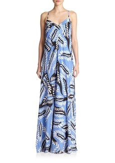 Diane von Furstenberg Barth's Silk Maxi Dress