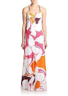 Diane von Furstenberg Barths Silk Maxi Dress