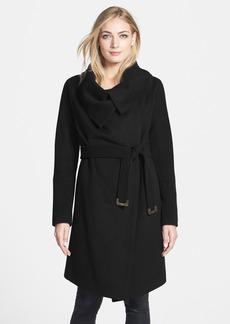 Diane von Furstenberg 'Beaux' Wool & Cashmere Wrap Coat