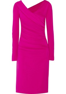 Diane von Furstenberg Bentley ruched stretch-jersey dress