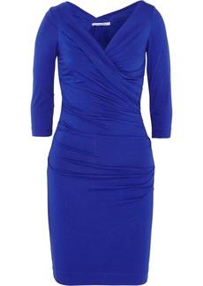 Diane von Furstenberg Bentley ruched stretch-jersey mini dress
