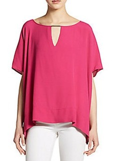 Diane von Furstenberg Beonica Side-Draped Top