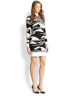Diane von Furstenberg Berlin Printed Sweater Dress