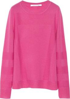 Diane von Furstenberg Beth paneled cashmere sweater