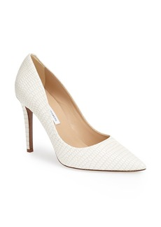 Diane von Furstenberg 'Bethany' Pointy Toe Leather Pump (Women)