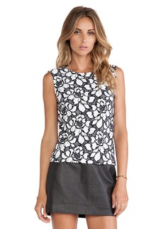 Diane von Furstenberg Betty Tank in Black