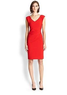 Diane von Furstenberg Bevin Asymmetrical Gathered Dress