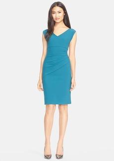 Diane von Furstenberg 'Bevin' Gathered Sheath Dress
