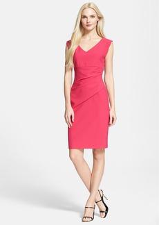 Diane von Furstenberg 'Bevin' Ruched Sheath Dress (Nordstrom Exclusive)