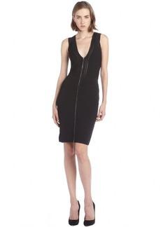 Diane Von Furstenberg black stretch knit bodycon 'Barcelona' dress