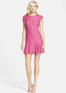 Diane von Furstenberg 'Brittany' Lace Drop Waist Dress