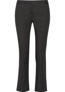 Diane von Furstenberg Carissa twill straight-leg pants