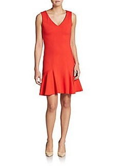 Diane von Furstenberg Carla Drop-Waist Fit-&-Flare Dress