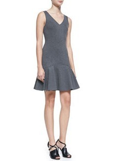 Diane von Furstenberg Carla Sleeveless Dropped-Waist Dress
