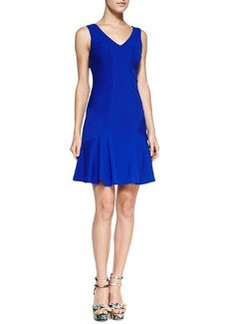 Diane von Furstenberg Carla Sleeveless Flared-Hem Dress