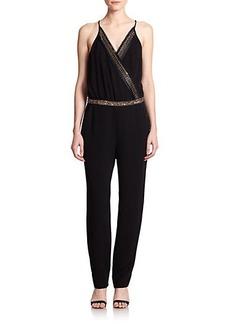 Diane von Furstenberg Caroline Embellished Jumpsuit