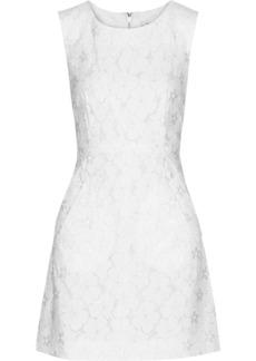 Diane von Furstenberg Carpreena embroidered lace mini dress