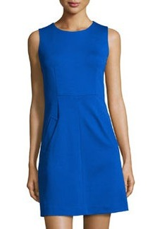 Diane von Furstenberg Carpreena Mini A-Line Sleeveless Dress, Star Sapphire