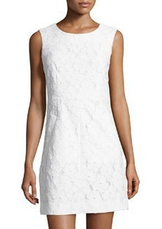 Diane von Furstenberg Carpreena Mini Lace Sleeveless Dress, White