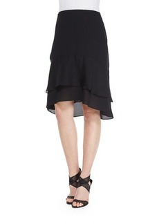 Diane von Furstenberg Catherine Tiered Ruffle Skirt