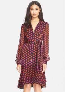 Diane von Furstenberg 'Catherine Two' Silk Print Dress