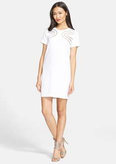 Diane von Furstenberg 'Cecilia' Ladder Stitch Shift Dress