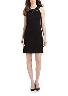 Diane von Furstenberg Ceecee Beaded Shift Dress