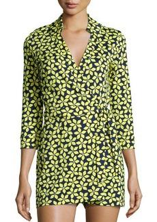 Diane von Furstenberg Celeste Floral Jersey Romper