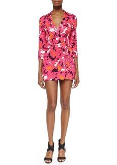 Diane von Furstenberg Celeste Floral-Print Wrap Dress