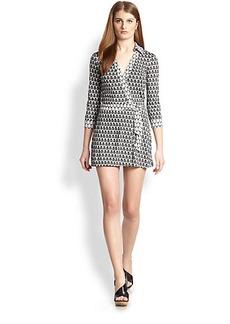 Diane von Furstenberg Celeste Silk Short Jumpsuit