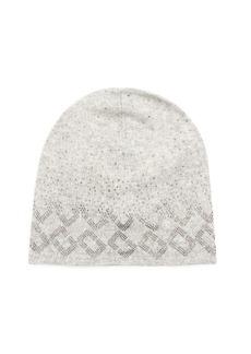 Diane Von Furstenberg Chain Link embellished beanie hat