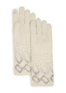 DIANE von FURSTENBERG Chainlink Gloves