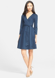 Diane von Furstenberg 'Christa' Denim Wrap Dress