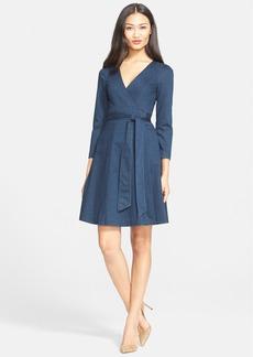 Diane von Furstenberg 'Christa' Denim Wrap Dress