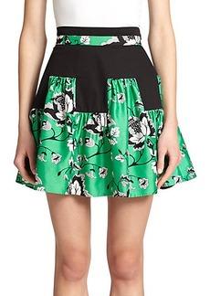 Diane von Furstenberg Claire Wool & Silk Skirt
