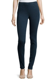 Diane von Furstenberg Clove Denim Leggings