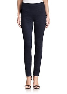 Diane von Furstenberg Clove Stretch-Cotton Ankle Pants