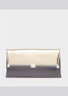 DIANE von FURSTENBERG Clutch - 440 Envelope Mirror Metallic